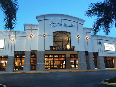 Entrance Cinepolis Luxury Theater