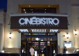 Entrance Cinebistro Siesta Key Doral