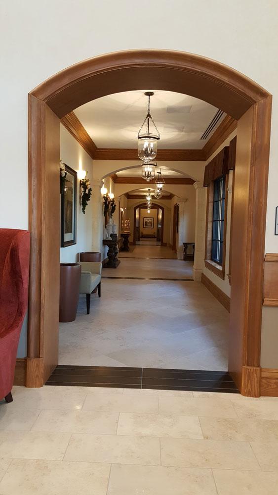 Hallway Treviso Bay TPC Clubhouse