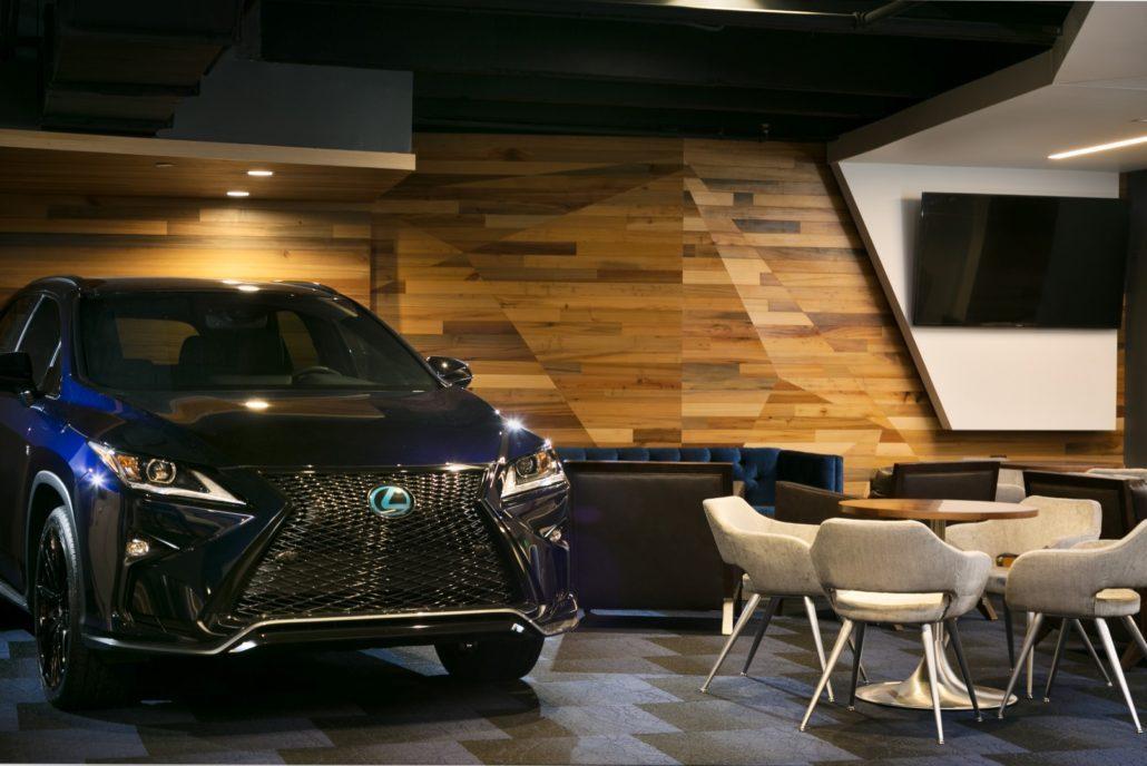 Amalie Arena Lexus Lounge Custom Cabinetry Curry
