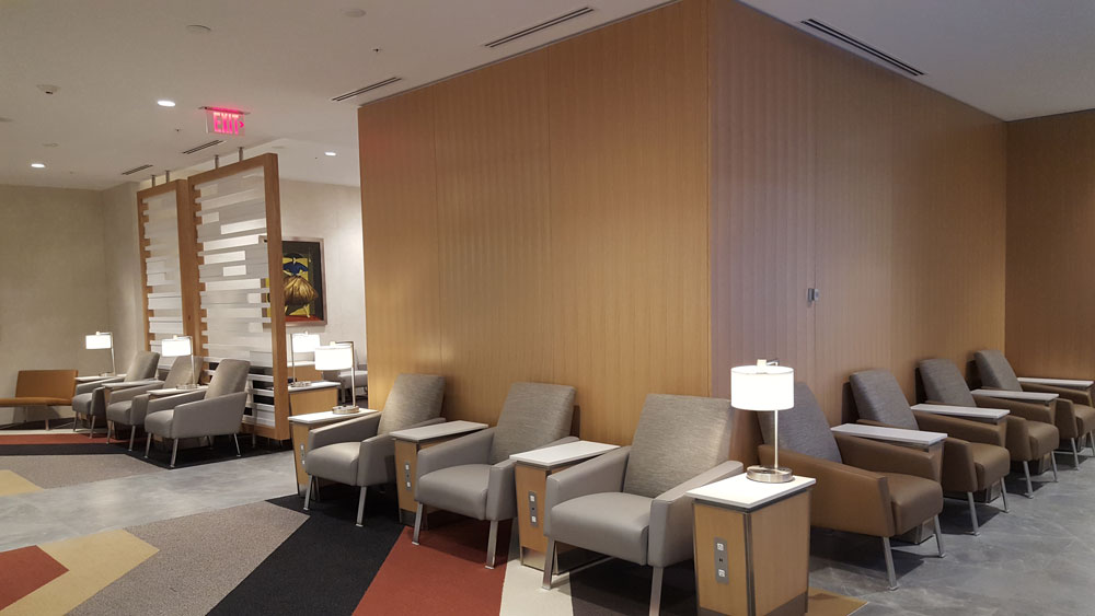 Quiet Area American Airlines Flagship Club Miami