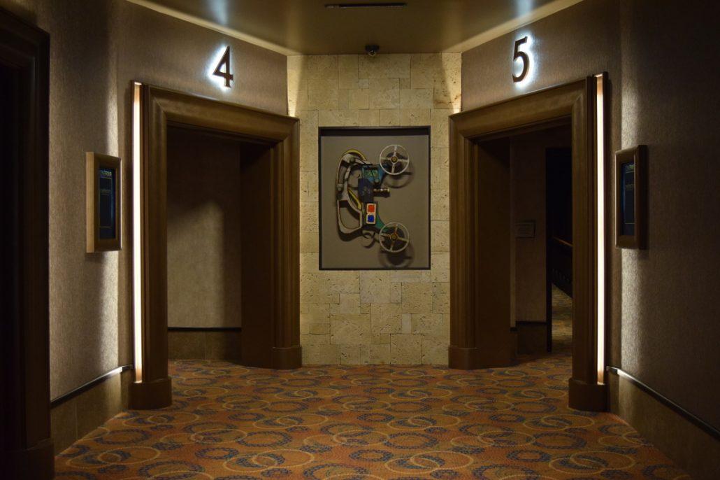 Theater Entrance Cinebistro Siesta Key Doral