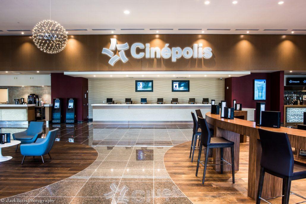 Ticket Counter Cinepolis Luxury Theater